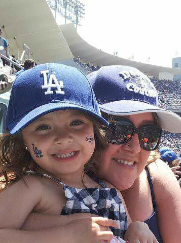 "<div class=""meta ""><span class=""caption-text "">Show us your Dodger love! Post your fan photos on our ABC7 Facebook page, and you might be featured on-air. You can also send us your photos on Twitter or Instagram with #abc7dodgers. LET'S GO DODGERS! (KABC Photo / Cecilia Acosta Olivares)</span></div>"