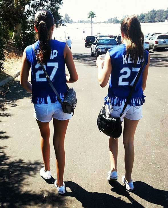 Show us your Dodger love! Post your fan photos on our ABC7 Facebook page, and you might be featured on-air. You can also send us your photos on Twitter or Instagram with #abc7dodgers. LET&#39;S GO DODGERS! <span class=meta>(KABC Photo &#47; Christal Ginter)</span>
