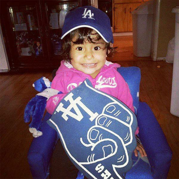 "<div class=""meta ""><span class=""caption-text "">Show us your Dodger love! Post your fan photos on our ABC7 Facebook page, and you might be featured on-air. You can also send us your photos on Twitter or Instagram with #abc7dodgers. LET'S GO DODGERS! (KABC Photo / Connie De La Cruz-Briseno)</span></div>"