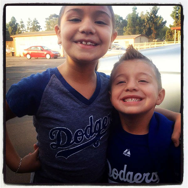 Show us your Dodger love! Post your fan photos on our ABC7 Facebook page, and you might be featured on-air. You can also send us your photos on Twitter or Instagram with #abc7dodgers. LET&#39;S GO DODGERS! <span class=meta>(KABC Photo &#47; Crystal Ann Rivera)</span>