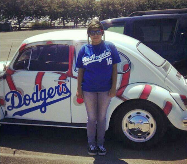 Show us your Dodger love! Post your fan photos on our ABC7 Facebook page, and you might be featured on-air. You can also send us your photos on Twitter or Instagram with #abc7dodgers. LET&#39;S GO DODGERS! <span class=meta>(KABC Photo &#47; Crystal Olivares Ramon)</span>