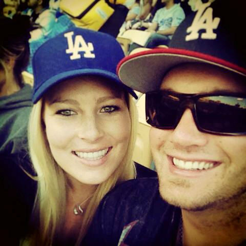 "<div class=""meta ""><span class=""caption-text "">Show us your Dodger love! Post your fan photos on our ABC7 Facebook page, and you might be featured on-air. You can also send us your photos on Twitter or Instagram with #abc7dodgers. LET'S GO DODGERS! (KABC Photo / Dana Drummond)</span></div>"