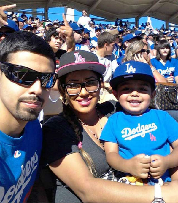 Show us your Dodger love! Post your fan photos on our ABC7 Facebook page, and you might be featured on-air. You can also send us your photos on Twitter or Instagram with #abc7dodgers. LET&#39;S GO DODGERS! <span class=meta>(KABC Photo &#47; Daniel Aguiniga)</span>
