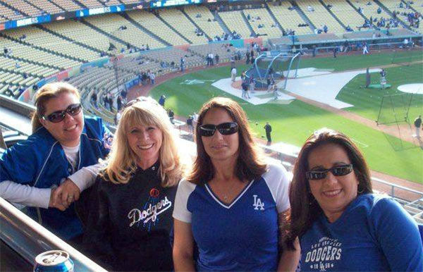 Show us your Dodger love! Post your fan photos on our ABC7 Facebook page, and you might be featured on-air. You can also send us your photos on Twitter or Instagram with #abc7dodgers. LET&#39;S GO DODGERS! <span class=meta>(KABC Photo &#47; Debbie Forgey)</span>