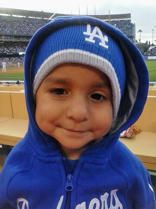 "<div class=""meta ""><span class=""caption-text "">Show us your Dodger love! Post your fan photos on our ABC7 Facebook page, and you might be featured on-air. You can also send us your photos on Twitter or Instagram with #abc7dodgers. LET'S GO DODGERS! (KABC Photo / Dolores Trevizo)</span></div>"