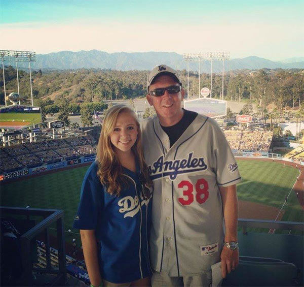 Show us your Dodger love! Post your fan photos on our ABC7 Facebook page, and you might be featured on-air. You can also send us your photos on Twitter or Instagram with #abc7dodgers. LET&#39;S GO DODGERS! <span class=meta>(KABC Photo &#47; Erika Gabaldo Walk)</span>