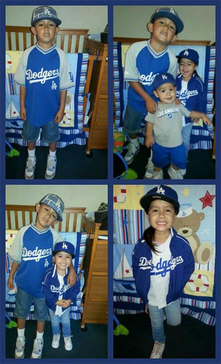 "<div class=""meta ""><span class=""caption-text "">Show us your Dodger love! Post your fan photos on our ABC7 Facebook page, and you might be featured on-air. You can also send us your photos on Twitter or Instagram with #abc7dodgers. LET'S GO DODGERS! (KABC Photo / Jackie Dominguez)</span></div>"