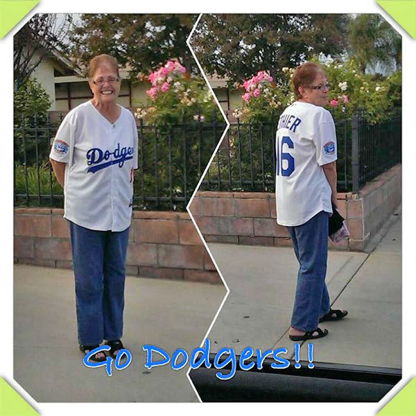 "<div class=""meta ""><span class=""caption-text "">Show us your Dodger love! Post your fan photos on our ABC7 Facebook page, and you might be featured on-air. You can also send us your photos on Twitter or Instagram with #abc7dodgers. LET'S GO DODGERS! (KABC Photo / Jackie Esquibel Escobedo)</span></div>"