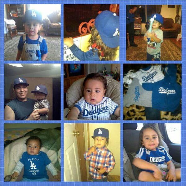 "<div class=""meta ""><span class=""caption-text "">Show us your Dodger love! Post your fan photos on our ABC7 Facebook page, and you might be featured on-air. You can also send us your photos on Twitter or Instagram with #abc7dodgers. LET'S GO DODGERS! (KABC Photo / Jacqueline Aguilar)</span></div>"