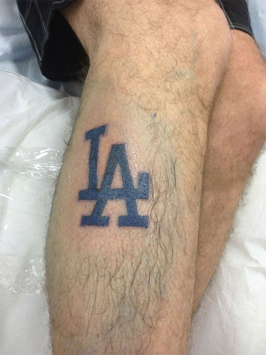 "<div class=""meta ""><span class=""caption-text "">Show us your Dodger love! Post your fan photos on our ABC7 Facebook page, and you might be featured on-air. You can also send us your photos on Twitter or Instagram with #abc7dodgers. LET'S GO DODGERS! (KABC Photo / Jade Pondella)</span></div>"