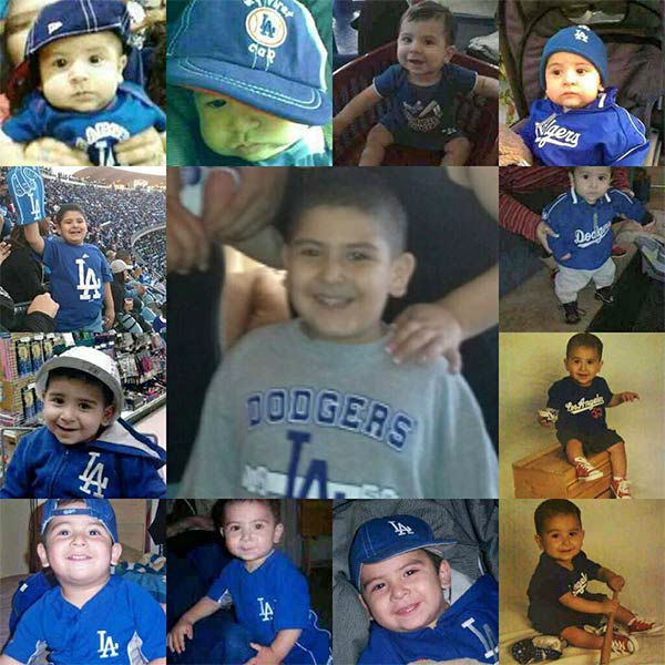 "<div class=""meta ""><span class=""caption-text "">Show us your Dodger love! Post your fan photos on our ABC7 Facebook page, and you might be featured on-air. You can also send us your photos on Twitter or Instagram with #abc7dodgers. LET'S GO DODGERS! (KABC Photo / Jenna Martinez)</span></div>"