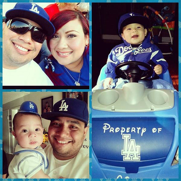 Show us your Dodger love! Post your fan photos on our ABC7 Facebook page, and you might be featured on-air. You can also send us your photos on Twitter or Instagram with #abc7dodgers. LET&#39;S GO DODGERS! <span class=meta>(KABC Photo &#47; Jessica Meza Magallanez)</span>