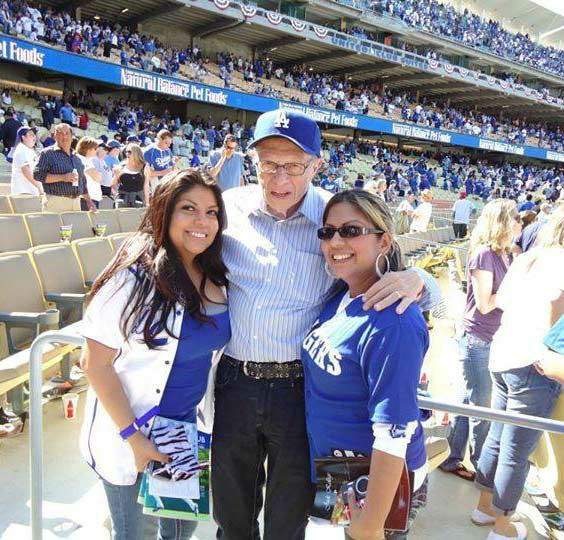 "<div class=""meta ""><span class=""caption-text "">Show us your Dodger love! Post your fan photos on our ABC7 Facebook page, and you might be featured on-air. You can also send us your photos on Twitter or Instagram with #abc7dodgers. LET'S GO DODGERS! (KABC Photo / Josie Quintero)</span></div>"