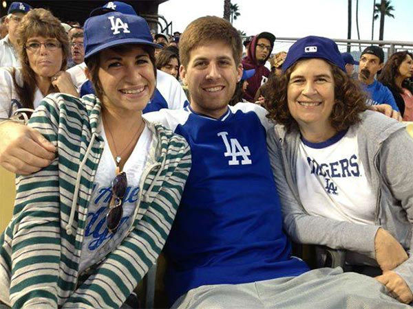 "<div class=""meta ""><span class=""caption-text "">Show us your Dodger love! Post your fan photos on our ABC7 Facebook page, and you might be featured on-air. You can also send us your photos on Twitter or Instagram with #abc7dodgers. LET'S GO DODGERS! (KABC Photo / Kim Connick Sheldon)</span></div>"