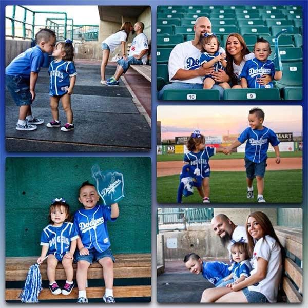 "<div class=""meta ""><span class=""caption-text "">Show us your Dodger love! Post your fan photos on our ABC7 Facebook page, and you might be featured on-air. You can also send us your photos on Twitter or Instagram with #abc7dodgers. LET'S GO DODGERS! (KABC Photo / Lili Robb)</span></div>"