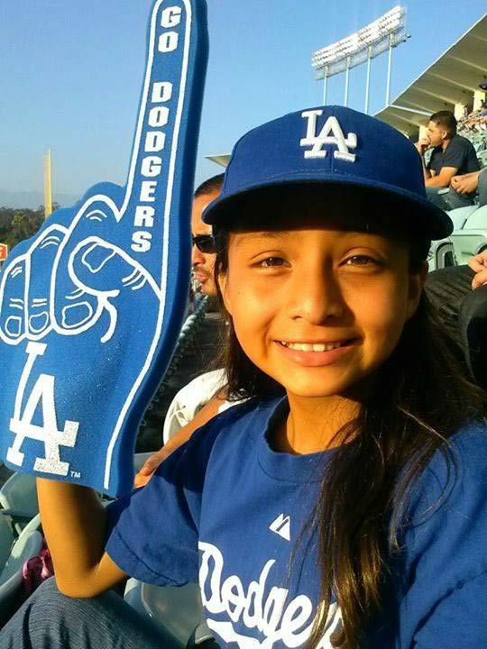 "<div class=""meta ""><span class=""caption-text "">Show us your Dodger love! Post your fan photos on our ABC7 Facebook page, and you might be featured on-air. You can also send us your photos on Twitter or Instagram with #abc7dodgers. LET'S GO DODGERS! (KABC Photo / Lily Garden)</span></div>"