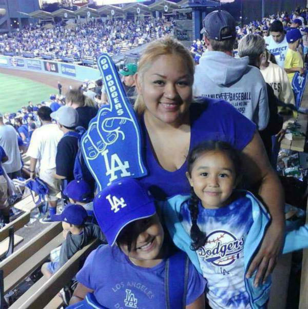 Show us your Dodger love! Post your fan photos on our ABC7 Facebook page, and you might be featured on-air. You can also send us your photos on Twitter or Instagram with #abc7dodgers. LET&#39;S GO DODGERS! <span class=meta>(KABC Photo &#47; Lizzie Hernandez)</span>