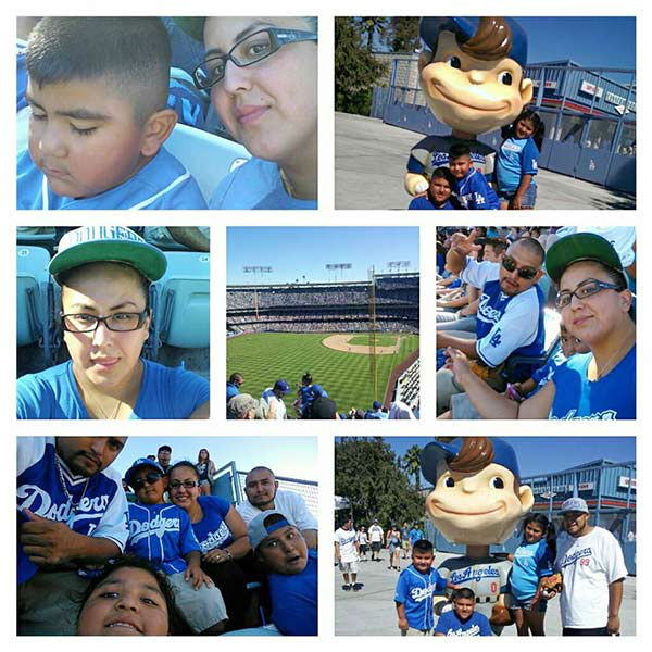 Show us your Dodger love! Post your fan photos on our ABC7 Facebook page, and you might be featured on-air. You can also send us your photos on Twitter or Instagram with #abc7dodgers. LET&#39;S GO DODGERS! <span class=meta>(KABC Photo &#47; Lucia Reyes Rivera)</span>