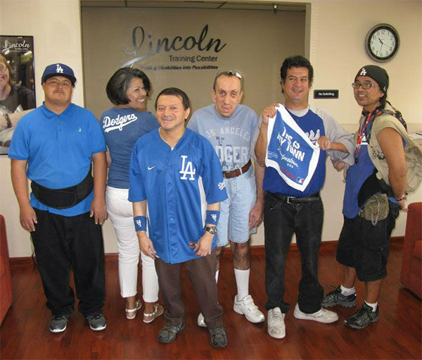 "<div class=""meta ""><span class=""caption-text "">Show us your Dodger love! Post your fan photos on our ABC7 Facebook page, and you might be featured on-air. You can also send us your photos on Twitter or Instagram with #abc7dodgers. LET'S GO DODGERS! (KABC Photo / Lucille Aguilar)</span></div>"