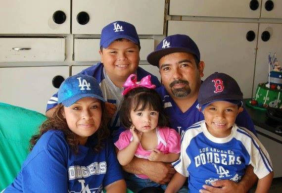 Show us your Dodger love! Post your fan photos on our ABC7 Facebook page, and you might be featured on-air. You can also send us your photos on Twitter or Instagram with #abc7dodgers. LET&#39;S GO DODGERS! <span class=meta>(KABC Photo &#47; Mari Chumpitaz Hinojosa)</span>