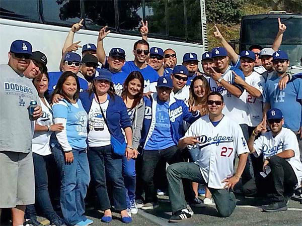 Show us your Dodger love! Post your fan photos on our ABC7 Facebook page, and you might be featured on-air. You can also send us your photos on Twitter or Instagram with #abc7dodgers. LET&#39;S GO DODGERS! <span class=meta>(KABC Photo &#47; Mari Sandoval Franco)</span>