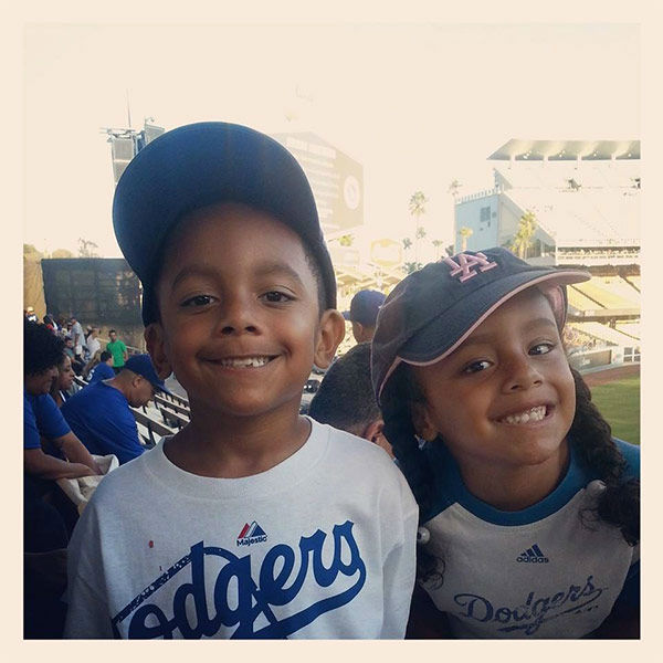 Show us your Dodger love! Post your fan photos on our ABC7 Facebook page, and you might be featured on-air. You can also send us your photos on Twitter or Instagram with #abc7dodgers. LET&#39;S GO DODGERS! <span class=meta>(KABC Photo &#47; Maria Victoria Lockhart)</span>