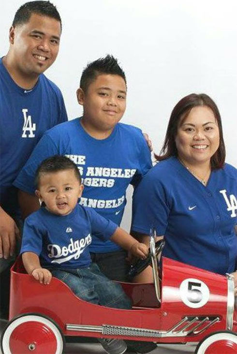 "<div class=""meta ""><span class=""caption-text "">Show us your Dodger love! Post your fan photos on our ABC7 Facebook page, and you might be featured on-air. You can also send us your photos on Twitter or Instagram with #abc7dodgers. LET'S GO DODGERS! (KABC Photo / Maria Zagala)</span></div>"