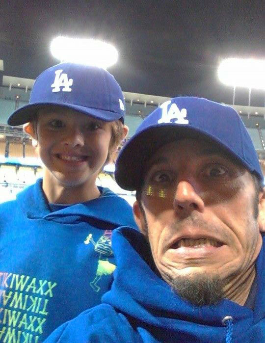 "<div class=""meta ""><span class=""caption-text "">Show us your Dodger love! Post your fan photos on our ABC7 Facebook page, and you might be featured on-air. You can also send us your photos on Twitter or Instagram with #abc7dodgers. LET'S GO DODGERS! (KABC Photo / Michael Morin)</span></div>"