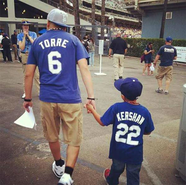 "<div class=""meta ""><span class=""caption-text "">Show us your Dodger love! Post your fan photos on our ABC7 Facebook page, and you might be featured on-air. You can also send us your photos on Twitter or Instagram with #abc7dodgers. LET'S GO DODGERS! (KABC Photo / Mikey Loaiza)</span></div>"