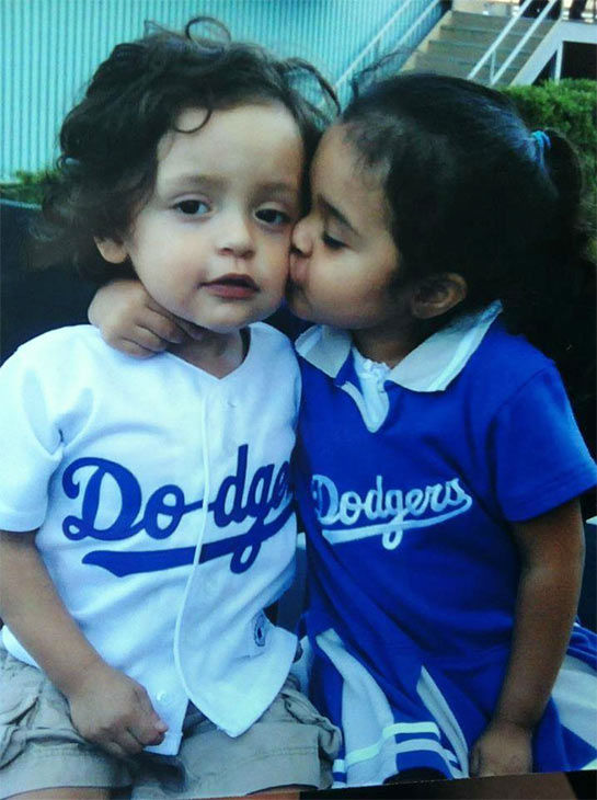 "<div class=""meta ""><span class=""caption-text "">Show us your Dodger love! Post your fan photos on our ABC7 Facebook page, and you might be featured on-air. You can also send us your photos on Twitter or Instagram with #abc7dodgers. LET'S GO DODGERS! (KABC Photo / Monica Rojas)</span></div>"