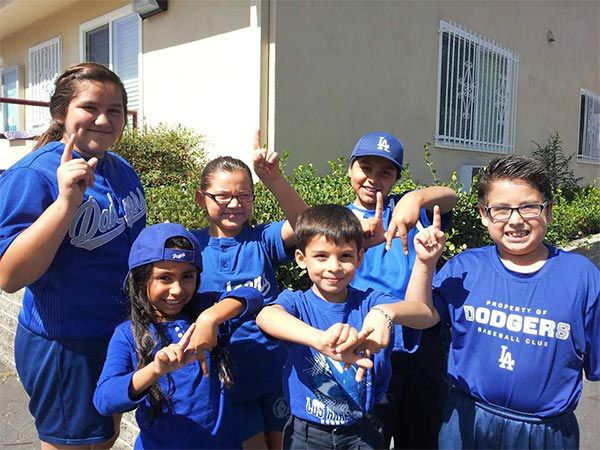 "<div class=""meta ""><span class=""caption-text "">Show us your Dodger love! Post your fan photos on our ABC7 Facebook page, and you might be featured on-air. You can also send us your photos on Twitter or Instagram with #abc7dodgers. LET'S GO DODGERS! (KABC Photo / Patino Julie)</span></div>"