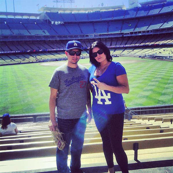 "<div class=""meta ""><span class=""caption-text "">Show us your Dodger love! Post your fan photos on our ABC7 Facebook page, and you might be featured on-air. You can also send us your photos on Twitter or Instagram with #abc7dodgers. LET'S GO DODGERS! (KABC Photo / Patty Flores)</span></div>"