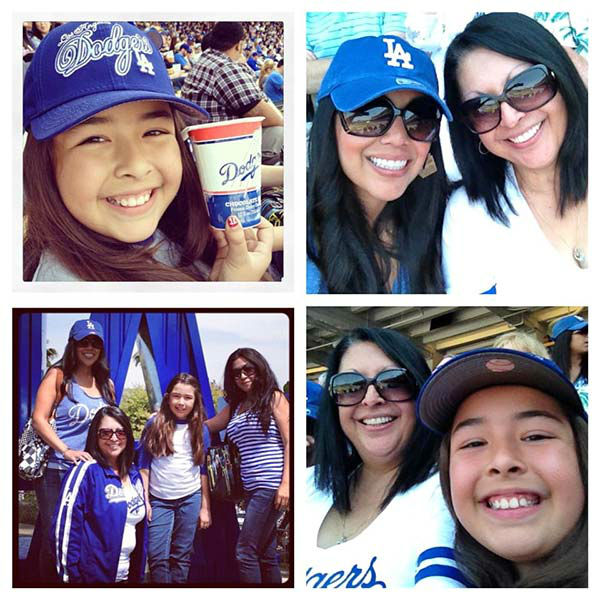 Show us your Dodger love! Post your fan photos on our ABC7 Facebook page, and you might be featured on-air. You can also send us your photos on Twitter or Instagram with #abc7dodgers. LET&#39;S GO DODGERS! <span class=meta>(KABC Photo &#47; Peggy Castaneda)</span>