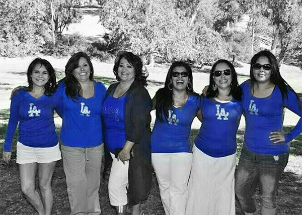 "<div class=""meta ""><span class=""caption-text "">Show us your Dodger love! Post your fan photos on our ABC7 Facebook page, and you might be featured on-air. You can also send us your photos on Twitter or Instagram with #abc7dodgers. LET'S GO DODGERS! (KABC Photo / Raquel Garcia)</span></div>"