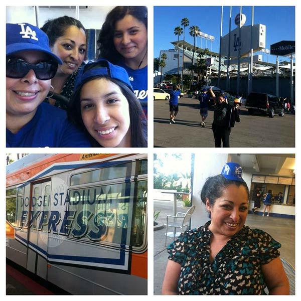 Show us your Dodger love! Post your fan photos on our ABC7 Facebook page, and you might be featured on-air. You can also send us your photos on Twitter or Instagram with #abc7dodgers. LET&#39;S GO DODGERS! <span class=meta>(KABC Photo &#47; Rosario Gallardo)</span>