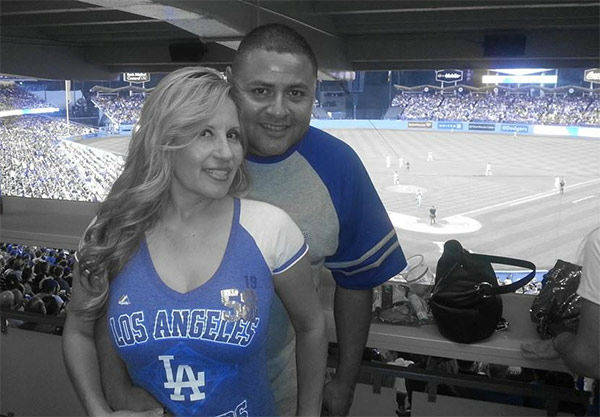 Show us your Dodger love! Post your fan photos on our ABC7 Facebook page, and you might be featured on-air. You can also send us your photos on Twitter or Instagram with #abc7dodgers. LET&#39;S GO DODGERS! <span class=meta>(KABC Photo &#47; Rose Garcia)</span>