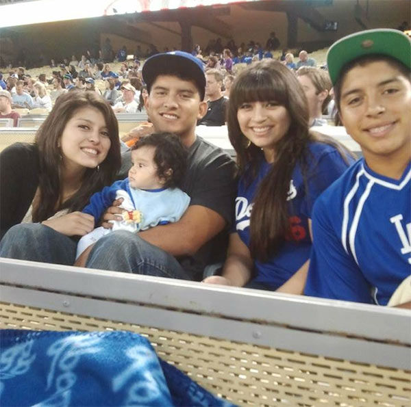 Show us your Dodger love! Post your fan photos on our ABC7 Facebook page, and you might be featured on-air. You can also send us your photos on Twitter or Instagram with #abc7dodgers. LET&#39;S GO DODGERS! <span class=meta>(KABC Photo &#47; Sandra Michel Santoyo)</span>