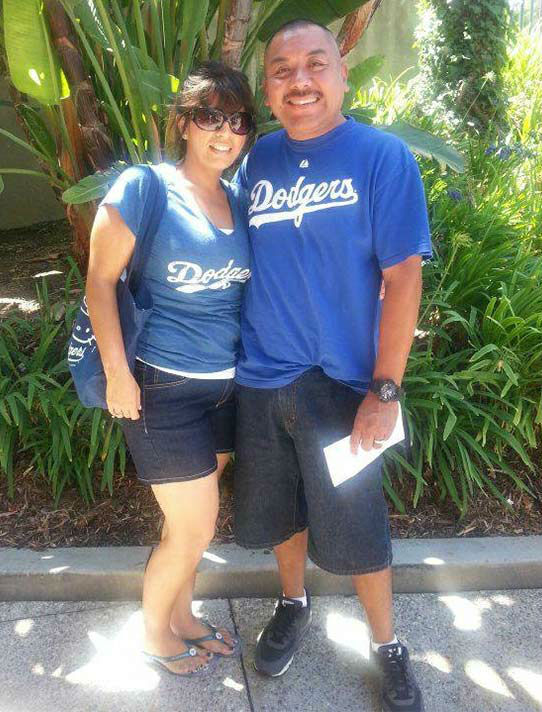 "<div class=""meta ""><span class=""caption-text "">Show us your Dodger love! Post your fan photos on our ABC7 Facebook page, and you might be featured on-air. You can also send us your photos on Twitter or Instagram with #abc7dodgers. LET'S GO DODGERS! (KABC Photo / Sonia Huerta Perez)</span></div>"