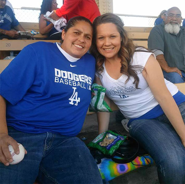 Show us your Dodger love! Post your fan photos on our ABC7 Facebook page, and you might be featured on-air. You can also send us your photos on Twitter or Instagram with #abc7dodgers. LET&#39;S GO DODGERS! <span class=meta>(KABC Photo &#47; Susana Martinez)</span>
