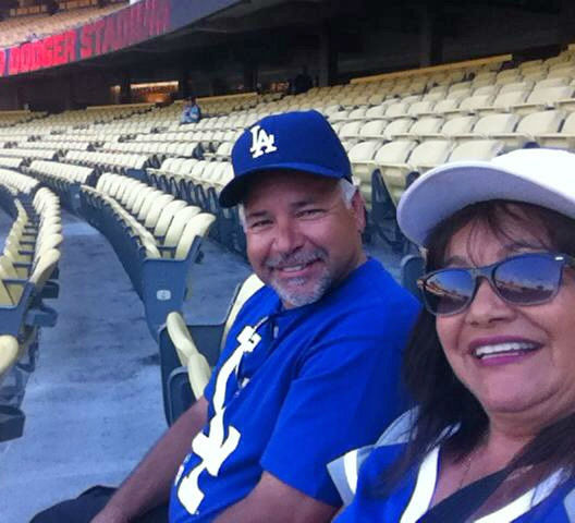 Show us your Dodger love! Post your fan photos on our ABC7 Facebook page, and you might be featured on-air. You can also send us your photos on Twitter or Instagram with #abc7dodgers. LET&#39;S GO DODGERS! <span class=meta>(KABC Photo &#47; Veronica White Maese)</span>