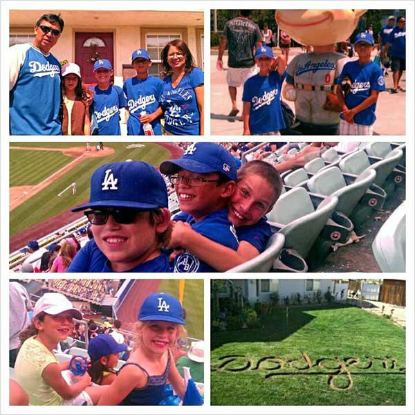 "<div class=""meta ""><span class=""caption-text "">Show us your Dodger love! Post your fan photos on our ABC7 Facebook page, and you might be featured on-air. You can also send us your photos on Twitter or Instagram with #abc7dodgers. LET'S GO DODGERS! (KABC Photo / Victor Posod)</span></div>"