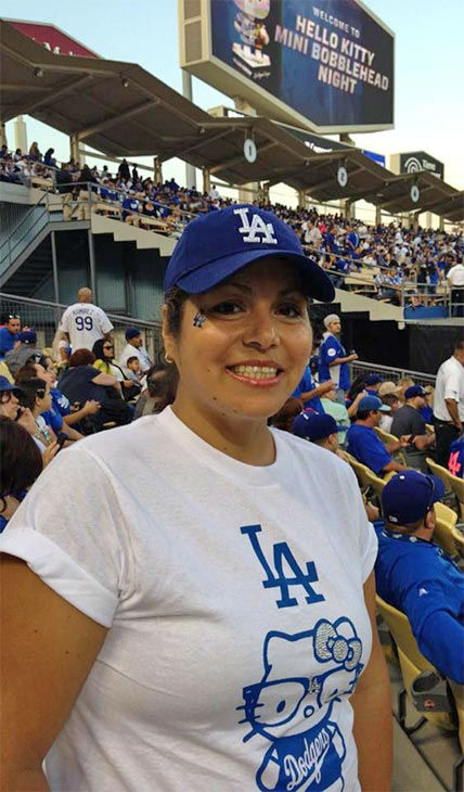 Show us your Dodger love! Post your fan photos on our ABC7 Facebook page, and you might be featured on-air. You can also send us your photos on Twitter or Instagram with #abc7dodgers. LET&#39;S GO DODGERS! <span class=meta>(KABC Photo &#47; Yvonne Camacho Gonzalez)</span>