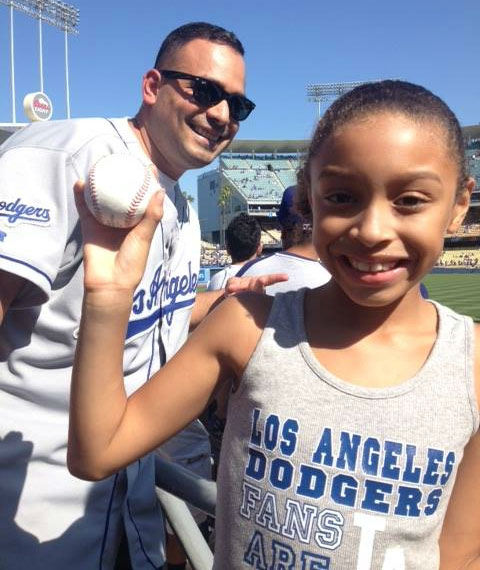 "<div class=""meta ""><span class=""caption-text "">Show us your Dodger love! Post your fan photos on our ABC7 Facebook page, and you might be featured on-air. You can also send us your photos on Twitter or Instagram with #abc7dodgers. LET'S GO DODGERS! (KABC Photo / Aime Prado)</span></div>"