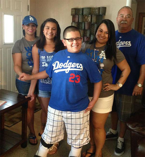 "<div class=""meta ""><span class=""caption-text "">Show us your Dodger love! Post your fan photos on our ABC7 Facebook page, and you might be featured on-air. You can also send us your photos on Twitter or Instagram with #abc7dodgers. LET'S GO DODGERS! (KABC Photo / Amanda Martinez)</span></div>"