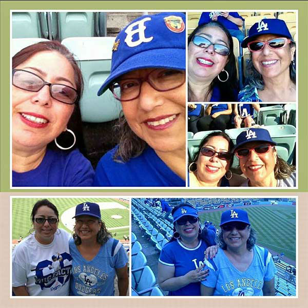 Show us your Dodger love! Post your fan photos on our ABC7 Facebook page, and you might be featured on-air. You can also send us your photos on Twitter or Instagram with #abc7dodgers. LET&#39;S GO DODGERS! <span class=meta>(KABC Photo &#47; Ana Martin Del Campo)</span>