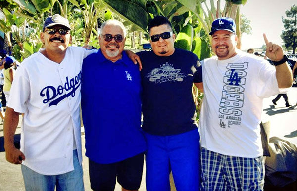 "<div class=""meta ""><span class=""caption-text "">Show us your Dodger love! Post your fan photos on our ABC7 Facebook page, and you might be featured on-air. You can also send us your photos on Twitter or Instagram with #abc7dodgers. LET'S GO DODGERS! (KABC Photo / Andrew Borquez)</span></div>"