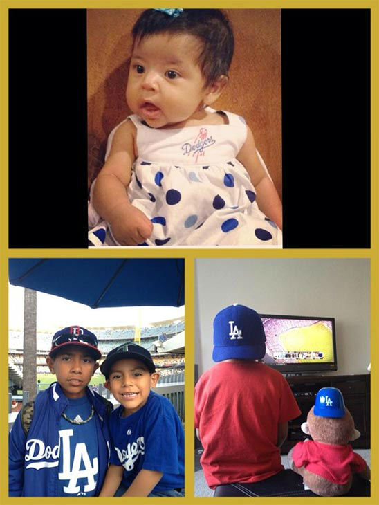 Show us your Dodger love! Post your fan photos on our ABC7 Facebook page, and you might be featured on-air. You can also send us your photos on Twitter or Instagram with #abc7dodgers. LET&#39;S GO DODGERS! <span class=meta>(KABC Photo &#47; Araceli Garcia)</span>