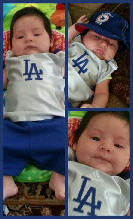 "<div class=""meta ""><span class=""caption-text "">Show us your Dodger love! Post your fan photos on our ABC7 Facebook page, and you might be featured on-air. You can also send us your photos on Twitter or Instagram with #abc7dodgers. LET'S GO DODGERS! (KABC Photo / Carlo Godoy)</span></div>"
