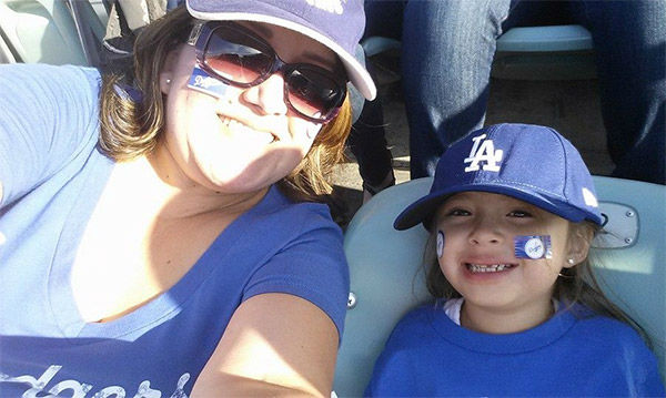 Show us your Dodger love! Post your fan photos on our ABC7 Facebook page, and you might be featured on-air. You can also send us your photos on Twitter or Instagram with #abc7dodgers. LET&#39;S GO DODGERS! <span class=meta>(KABC Photo &#47; Cecila Acosta Olivares)</span>