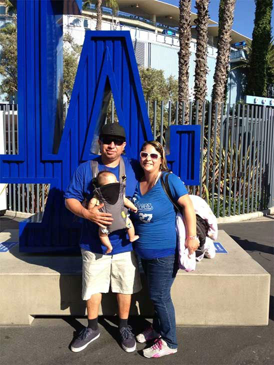 "<div class=""meta ""><span class=""caption-text "">Show us your Dodger love! Post your fan photos on our ABC7 Facebook page, and you might be featured on-air. You can also send us your photos on Twitter or Instagram with #abc7dodgers. LET'S GO DODGERS! (KABC Photo / Christina Guerrero)</span></div>"